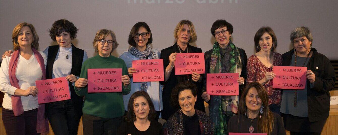 La Liga de las Mujeres Profesionales del Teatro, junto con las principales asociaciones de la cultura, firmamos la 'Declaración de Madrid' en pro del cumplimiento de la Ley por la Igualdad
